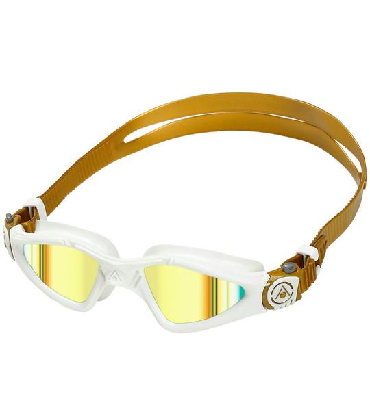 Aqua Sphere Kayenne Compact Fit Swim Goggle with Titanium Mirrored Lens