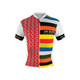 DeSoto Men's Skincooler Full Zip Short Sleeve Tri Top - Barcelona