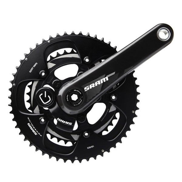 SRAM Quarq S975 BB30 Powermeter Crankset 172.5mm 53-39 Black Rings; Bottom Bracket Not Included price