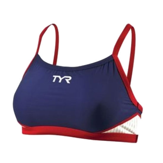 TYR Women's Carbon Thin Strap Tri Top price