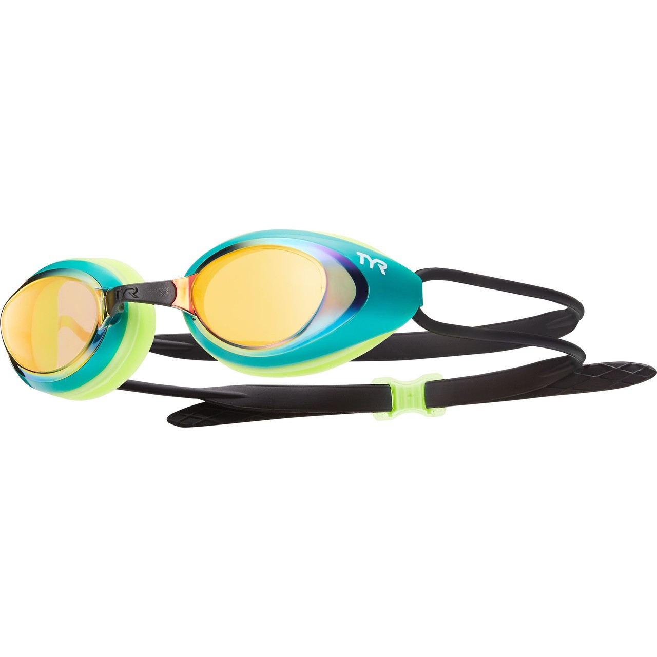 TYR Black Hawk Mirrored Racing Goggle - 2019 price