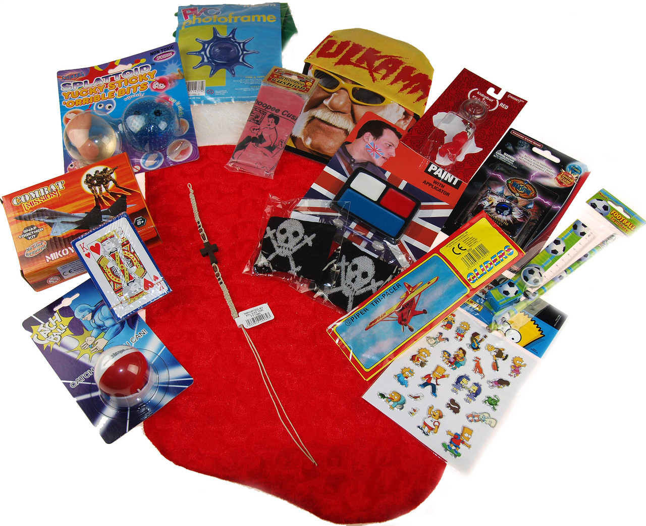 Girls 2019 Pre Filled Christmas Stocking Stuffed With 15 Toys And Novelties