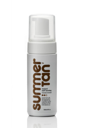 Summer Tan - Instant Self Tanning Mousse Bronzer 120ml