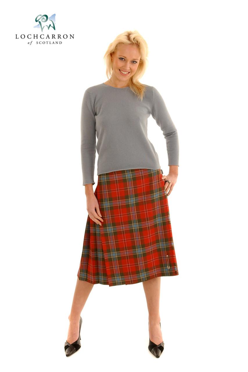 Scottish Purple Utility Kilt Women/'s Vintage Scottish Kilt