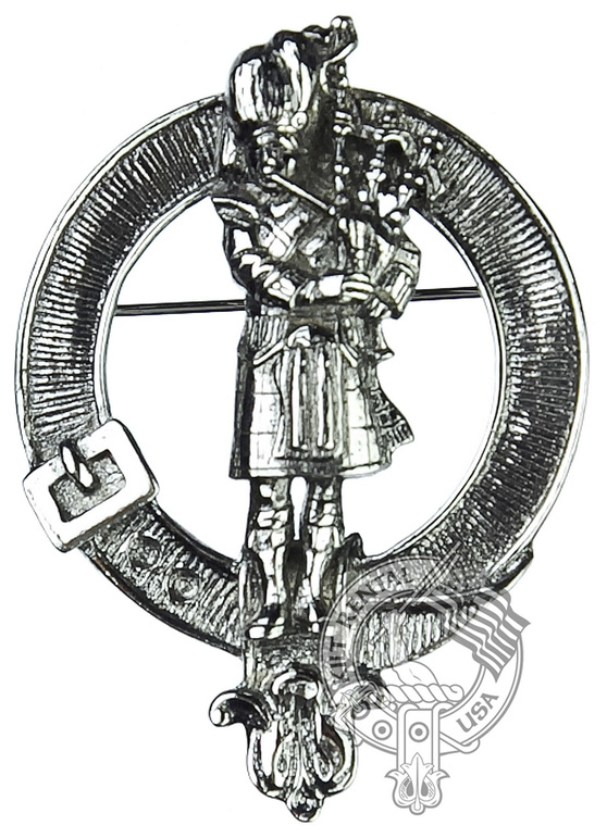 Scottish Clan Crest Badge (Made by Art Pewter)