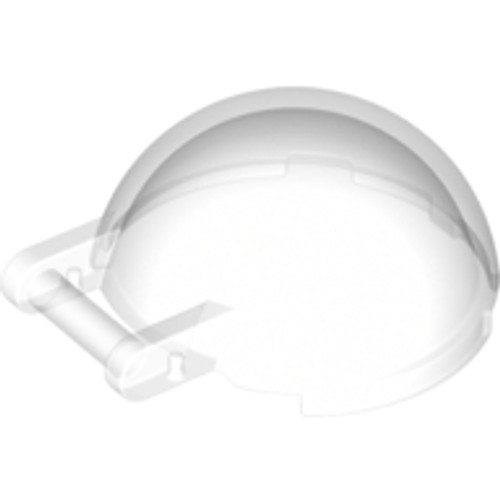 Windscreen Cockpit 4x4x1 2/3 Canopy Half Sphere with Handle (Trans Clear)