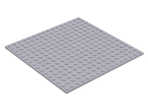 Plate 16x16 (Light Bluish Gray)