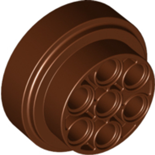 Wheel 31mm D. x 15mm Technic (Reddish Brown)