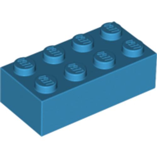 Brick 2x4 (Dark Azure)