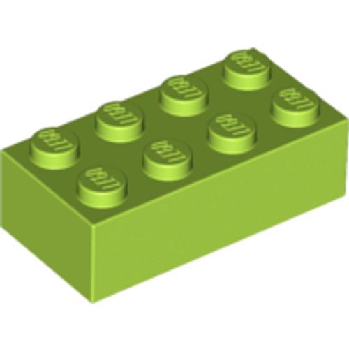 Brick 2x4 (Lime)