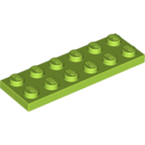 Plate 2x6 (Lime)