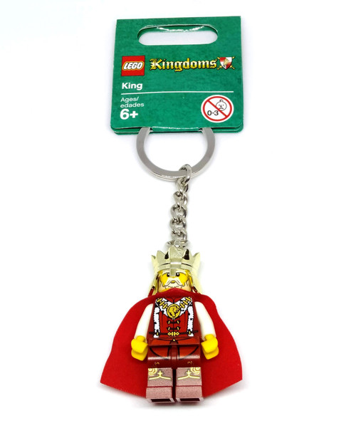LEGO King Keychain