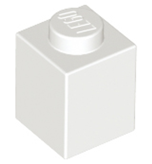 Brick 1x1 (White)