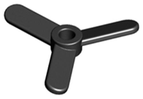 Propeller 3 Blade Small (Black)