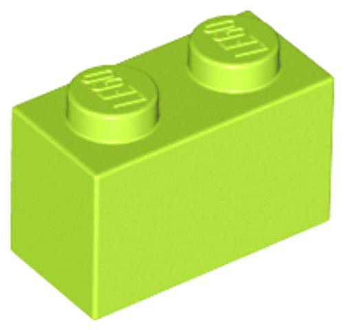 Brick 1x2 (Lime)