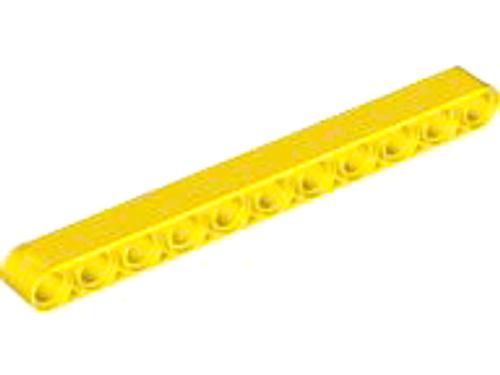 Technic, Liftarm 1x11 Thick (Yellow)
