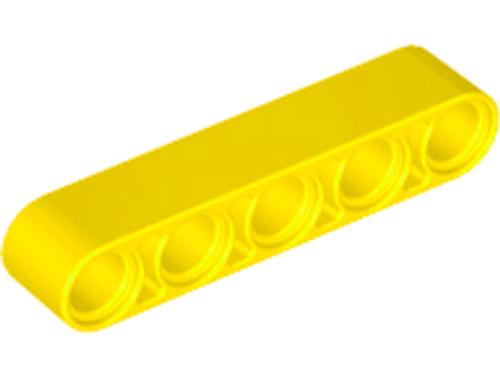Technic, Liftarm 1x5 Thick (Yellow)