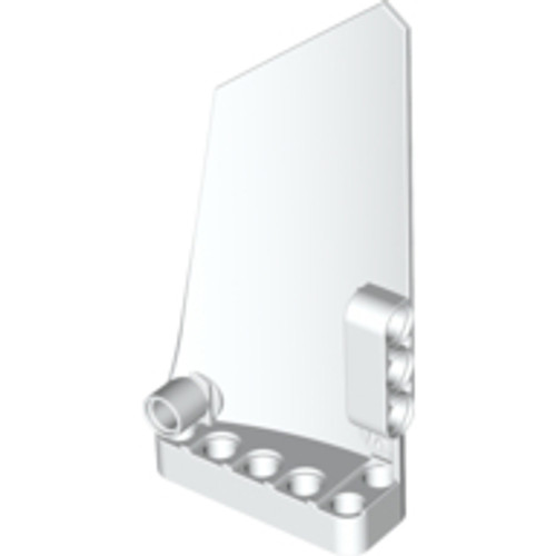 Technic, Panel Fairing #18 Large Smooth, Side B (White)
