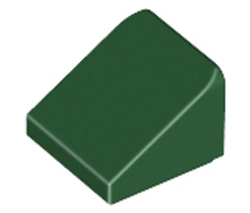 Slope 30 1x1 2/3 (Dark Green)