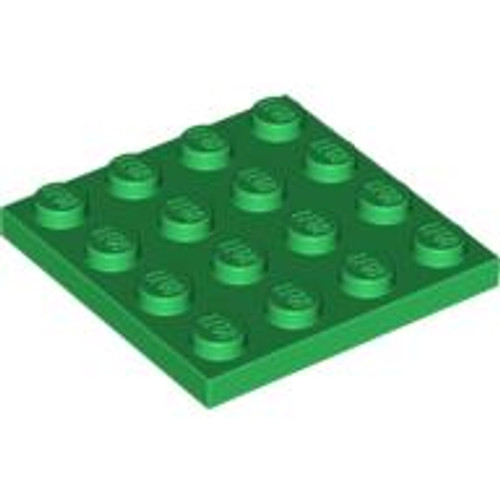 Plate 4x4 (Green)