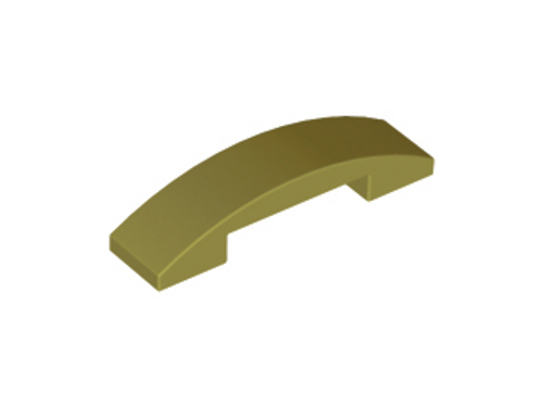 Curved 4x1 Double No Studs (Olive Green)