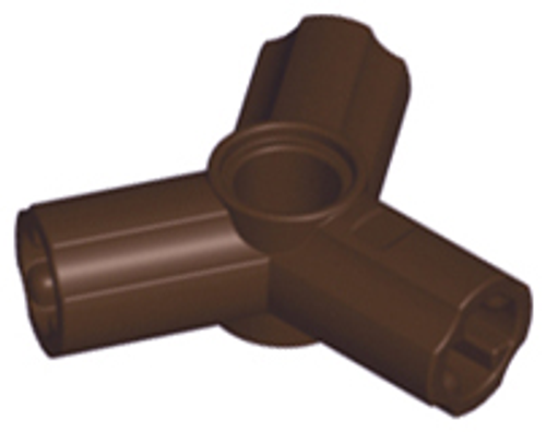 Technic, Axle and Pin Connector Triple (Dark Brown)