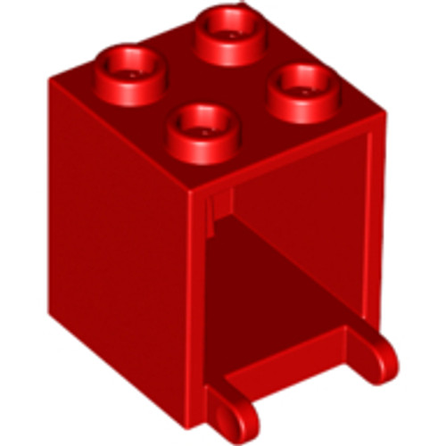 Container, Box 2x2x2 (Red)
