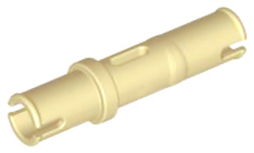 Technic, Pin 3L without Friction Ridges Lengthwise (Tan)