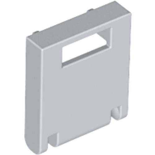 Container, Box 2x2x2 Door with Slot (Light Bluish Gray)