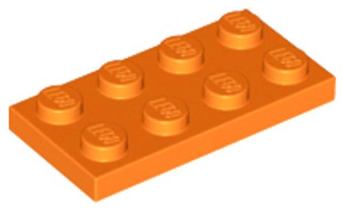Plate 2x4 (Orange)