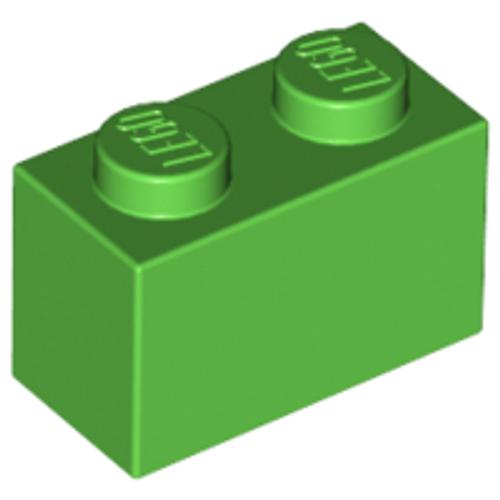 Brick 1x2 (Bright Green)