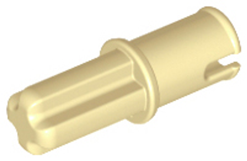 Technic, Axle Pin without Friction Ridges Lengthwise (Tan)