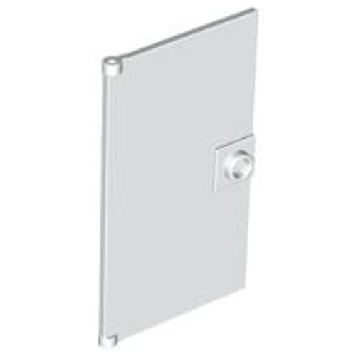 Door 1x4x6 with Stud Handle (White)
