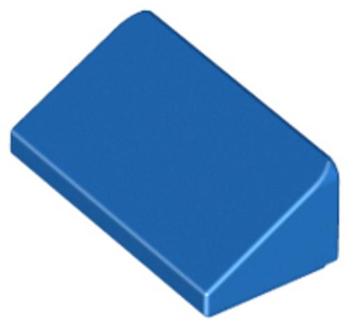 Slope 30 1x2x2/3 (Blue)