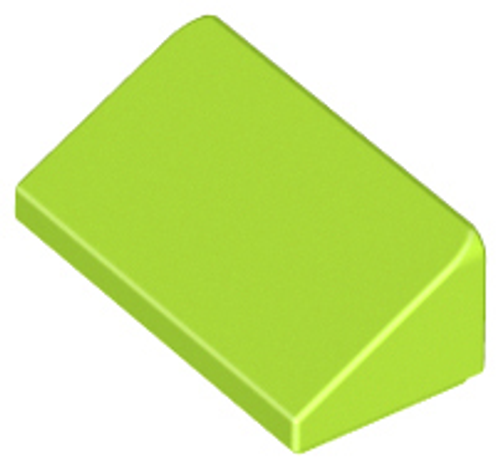 Slope 30 1x2x2/3 (Lime)
