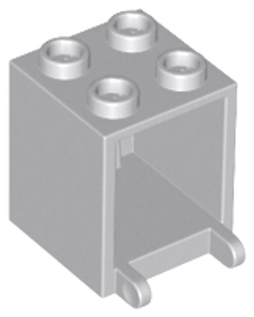 Container, Box 2x2x2 (Light Bluish Gray)