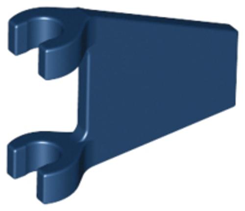 Flag 2x2 Trapezoid (Dark Blue)