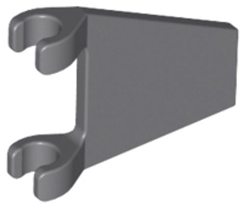 Flag 2x2 Trapezoid (Dark Bluish Gray)