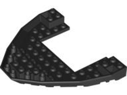 Boat Bow Brick 10x12x1 Open (Black)