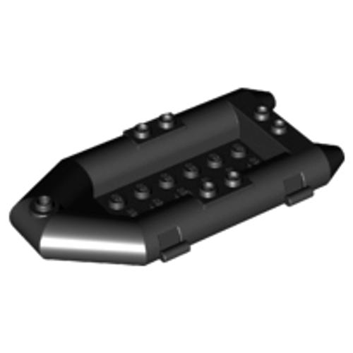 Boat, Rubber Raft, Small (Black)