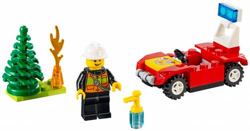 Juniors - Fire Car Polybag (30338)