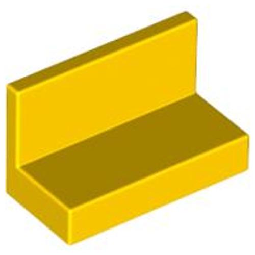Panel 1x2x1 (Yellow)