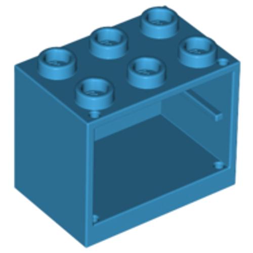 Container, Cupboard 2x3x2 (Dark Azure)