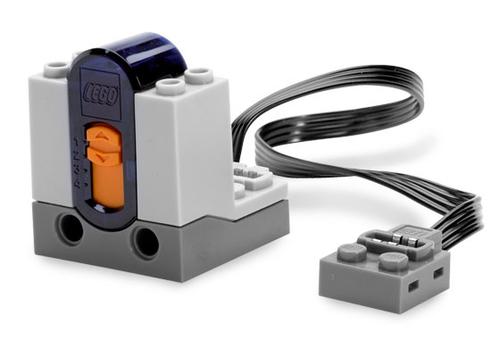 Electric, Power Functions Receiver Unit with Dark Bluish Gray Bottom (Light Bluish Gray)