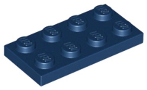 Plate 2x4 (Dark Blue)