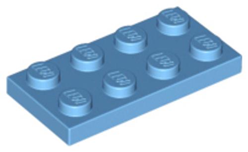 Plate 2x4 (Medium Blue)