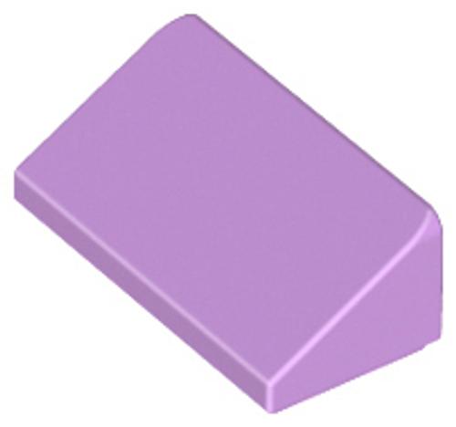Slope 30 1x2x2/3 (Medium Lavender)