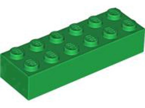 Brick 2x6 (Green)