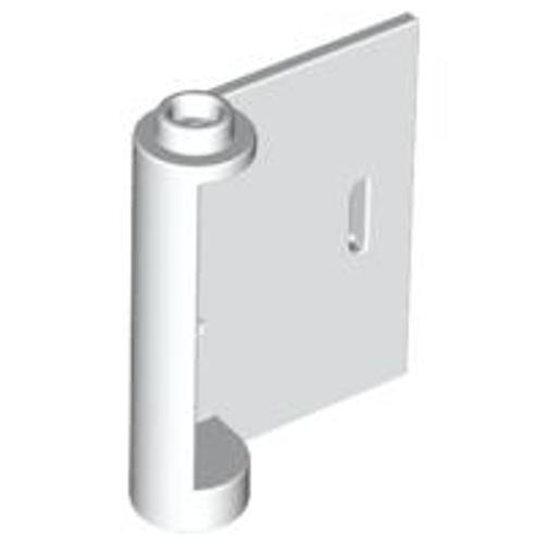 Door 1x3x3 Right - Open Between Top and Bottom Hinge (White)