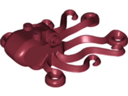 Octopus (Dark Red)